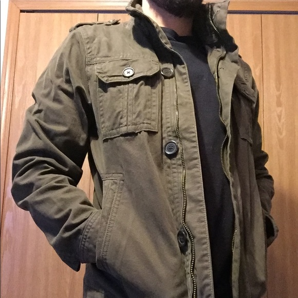 Men s Small Old Navy Military Field Jacket. M 5a4ab2203316279d6805c322 7f4a6fdf1eb